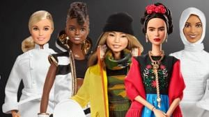 Barbie is promoting role models from around the world to empower girls.(www.barbie.mattel.com)