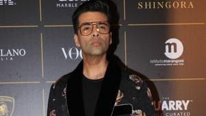 Filmmaker Karan Johar at The Vogue Women Of The Year Awards 2018, in Mumbai.(IANS)