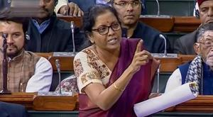 Defence minister Nirmala Sitharaman on Sunday hit back at Congress President Rahul Gandhi after he accused her of lying in Parliament about procurement orders worth Rs 1 lakh crore for state-run aerospace major Hindustan Aeronautics Limited (HAL).(PTI)