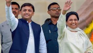 Ahead of a formal announcement of a pre-poll alliance, Bahujan Samaj Party (BSP) chief Mayawati dialled Samajwadi Party (SP) supremo Akhilesh Yadav.(PTI)