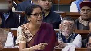 """Defence Minister Nirmala Sitharaman on Monday termed the doubts raised by the Congress over her statement on HAL contracts as """"incorrect and misleading"""".(PTI)"""