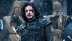 Kit Harington in a still from Game of Thrones.