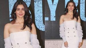 Alia Bhat's Gully Boy trailer launch look is the perfect blend of elegance and playfulness. (Instagram)