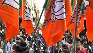 After its electoral setbacks in Chhattisgarh, Madhya Pradesh and Rajasthan, the Bharatiya Janata Party (BJP) is looking for ways to bounce back in 2019.(Bloomberg)