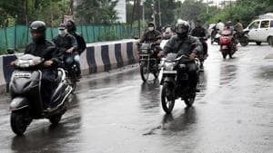 On Tuesday, Anil Shirole and Yogesh Gogawale had said they were only opposing helmet compulsion on arterial roads and local roads in the city as often people don't travel for more than a kilometre on small errands.(HT Photo)
