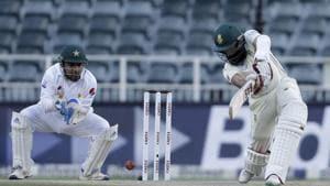 Hashim Amla in action against Pakistan.(AP)