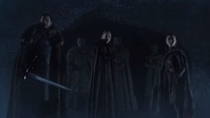 Game of Thrones season 8 trailer: Jon Snow, Sansa and Arya prepare for battle.