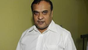 Assam finance minister Himanta Biswa Sarma is often described as the(Hindustan Times via Getty Images)