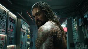 This image released by Warner Bros. Pictures shows Jason Momoa in a scene from Aquaman.(AP)