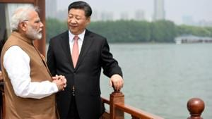The Prime Minister, Narendra Modi and the President of the People's Republic of China, Xi Jinping inside a house boat, in Wuhan's East Lake, China on April 28, 2018. One summit was never going to offset structural factors that make the two Asian giants each other's adversary.(File Photo)