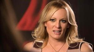 Ohio police officers were politically motivated when they arrested Stormy Daniels, the porn star who has described having an affair with President Donald Trump, at a strip club last year, the actress said in a lawsuit on Monday.(AFP)