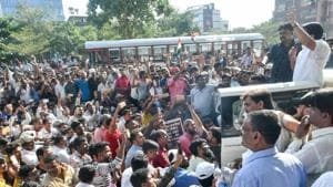 Brahmins in Maharashtra have warned of protests in Mumbai if their demands including reservation for the community is not given (Representative Photo))(HT PHOTO)