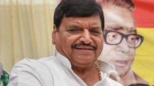 Founder president of Pragatisheel Samajwadi Party Shivpal Singh Yadav(PTI)