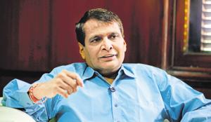 Union Commerce and Civil Aviation Minister Suresh Prabhu Saturday said India has the potential to be a USD 5 trillion economy in the next 7-8 years.(Mint Photo)