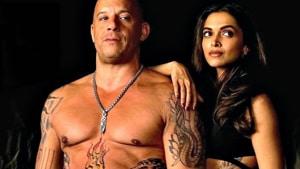 Deepika Padukone and Vin Diesel in a still from xXx: Return of Xander Cage.