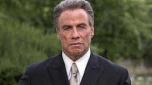 John Travolta as the mobster John Gotti in a still from Gotti.