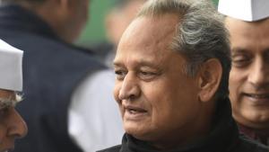 File photo of Rajasthan chief minister Ashok Gehlot(Arvind Yadav/HT File)