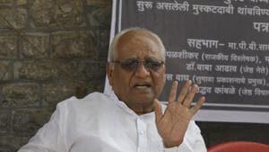 Justice B G Kolse Patil(Rahul Raut/HT PHOTO)