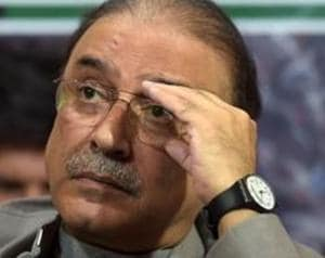 A banking court in Pakistan on Wednesday extended till February 14 the interim bail of former president Asif Ali Zardari, his sister Faryal Talpur and nine other suspects in a money laundering case.(AFP)