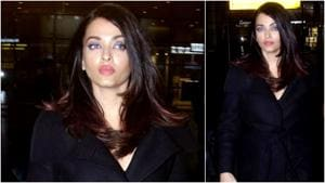Aishwarya Rai tried to stay under the radar, but with this airport look? Impossible. (Instagram)