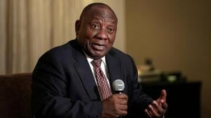 South African President Cyril Ramaphosa's presence as the chief guest at the Republic Day parade also reflects India's growing efforts to engage African nations.(Reuters)