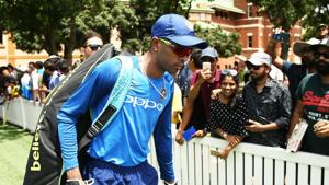 SYDNEY, AUSTRALIA - JANUARY 11: Hardik Pandya walks to the nets during the India ODI Series Training Session at SCG on January 11, 2019 in Sydney, Australia. (Photo by Matt King/Getty Images)(Getty Images)