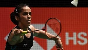 Saina Nehwal has won the Indonesia Masters after Carolina Marin was forced to retire with an injury.(AFP)