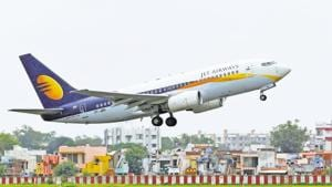 Jet Airways said on Monday it would seek a shareholder nod next month to convert existing debt into equity, raise more money and allow its lenders to nominate a director on its board as part of efforts to resolve its financing problems.(REUTERS)