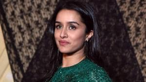Shraddha Kapoor poses for a picture during the wedding reception of film producer Mukesh Bhatt's daughter Sakshi Bhatt.(AFP)