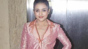 Mishti Chakraborty at the launch of a film academy in Mumbai.(IANS)