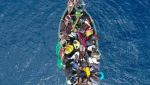 Thousands of migrants from the turbulent Horn of Africa region set off every year from Djibouti to cross the Bab al-Mandab Strait for the Arabian Peninsula with hopes of finding work in rich Gulf countries.(AFP/Picture for representation)