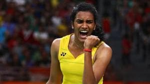 File image of Indian shuttler PV Sindhu(Getty Images)