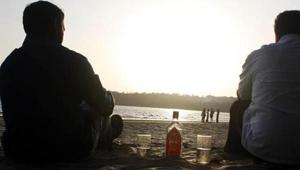 The Goa- assembly today passed a bill banning open drinking or cooking on the state's beaches (File Photo)(HT Photo)
