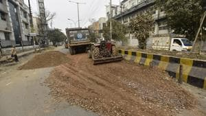 Northern Railways been penalised for dumping construction and demolition waste on its land in north Delhi.(HT File / Photo used for representational purpose)
