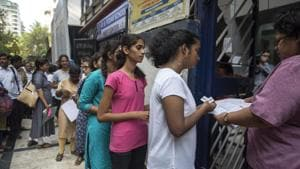 DHSE second year equivalency result 2018 : Directorate of Higher Secondary Education (DHSE), Kerala on FRiday declared the result of second year higher secondary equivalency examination 2018 on its result website keralaresults.nic.in.(Satish Bate/HT file)