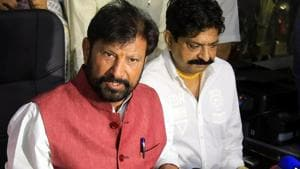 Former Jammu and Kashmir minister Choudhary Lal Singh said the doors of his party are open to everyone who supports the vision document.(Nitin Katora/HT)