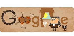 """""""Here's to Runge, without whom the pain of forgoing one's morning cup of coffee might never have had a scientific explanation,"""" the Google blogpost said.(Google.com)"""
