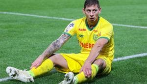 Emiliano Sala of Nantes during the Ligue 1 match between Rennes and Nantes at Roazhon Park on November 11, 2018 in Rennes, France. (Photo by Eddy Lemaistre/Icon Sport via Getty Images)(Icon Sport via Getty Images)