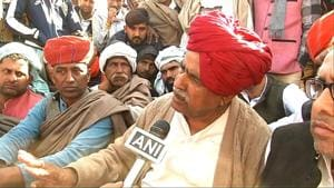 The stalemate between the state government and the Gujjars continued for the second day on Saturday as the Gujjar leader Kirodi Singh Bainsla, spearheading the stir, rejected the government invite for talks in Jaipur.(ANI)