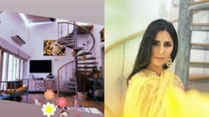 Katrina Kaif shared pictures of her house on Instagram.