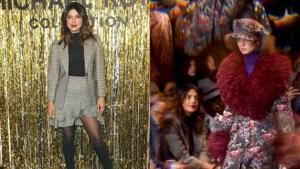 Priyanka Chopra attends New York Fashion Week.(AP)