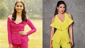 Alia Bhatt and Priyanka Chopra's colourful looks are anything but boring. (Instagram)