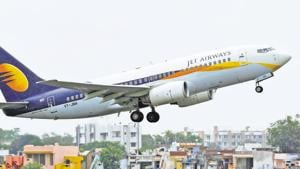 Jet Airways India Ltd., the beleaguered carrier that's in the midst of bailout talks with its partner and lenders, is set to get an emergency loan of as much as 6 billion rupees.(REUTERS)