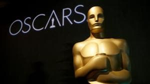 An Oscar statue appears at the 91st Academy Awards Nominees Luncheon in Beverly Hills.(Danny Moloshok/Invision/AP)