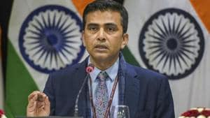 During a regular news briefing, external affairs ministry spokesperson Raveesh Kumar said India is closely following developments related to reconciliation efforts in Afghanistan.(AP/File Photo)