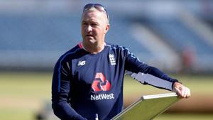 File photo of England assistant coach Paul Farbrace.(Action Images via Reuters)