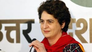 Congress general secretary and in-charge of east Uttar Pradesh Priyanka Gandhi Vadra on Monday warned that anyone found indulging in anti-party activities will be shown the door.(REUTERS)