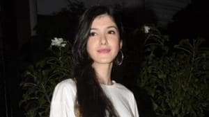 Sanjay Kapoor's daughter Shanaya Kapoor seen at a hotel in Mumbai's Juhu on Nov 28, 2018.(IANS)