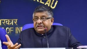 IT Minister Ravi Shankar Prasad on Thursday urged field officers of National Informatics Centre (NIC) to use innovative thinking to bring new, path-breaking and affordable solutions in areas like primary education, agriculture and healthcare.(PTI file)
