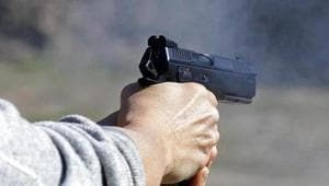 Wearing a helmet and a handkerchief, Jindal walked into the bank without any problem, pulled out the pistol, pointed it at the bank's staff, and ordered them to raise their hands in the air, according to the statement given by Kumar to the police.(REUTERS)